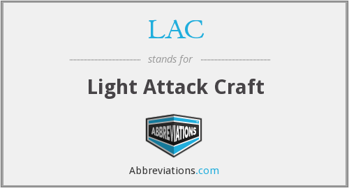 LAC - Light Attack Craft