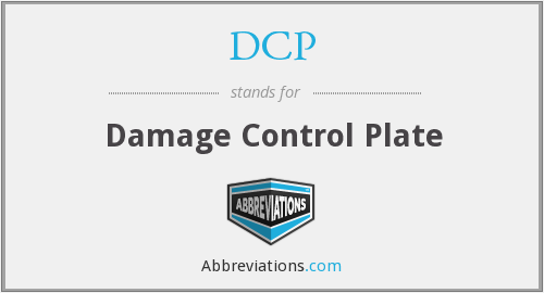DCP - Damage Control Plate
