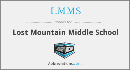 LMMS - Lost Mountain Middle School