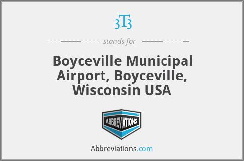 3T3 - Boyceville Municipal Airport, Boyceville, Wisconsin USA