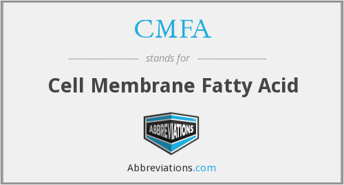 CMFA - Cell Membrane Fatty Acid