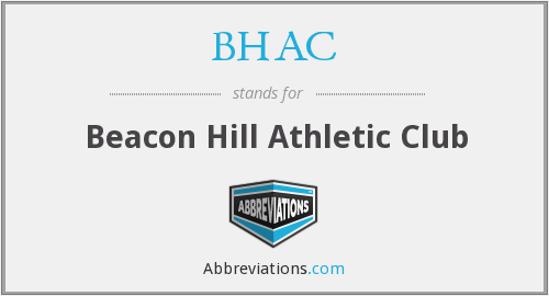 BHAC - Beacon Hill Athletic Club