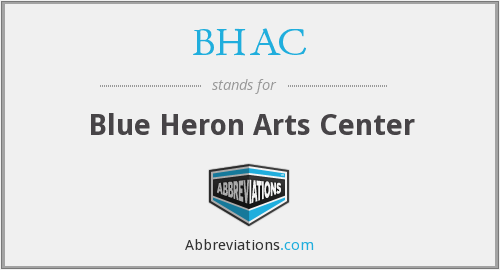 BHAC - Blue Heron Arts Center