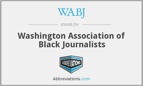 WABJ - Washington Association of Black Journalists