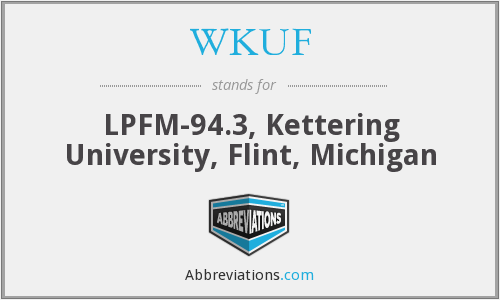What does WKUF stand for?
