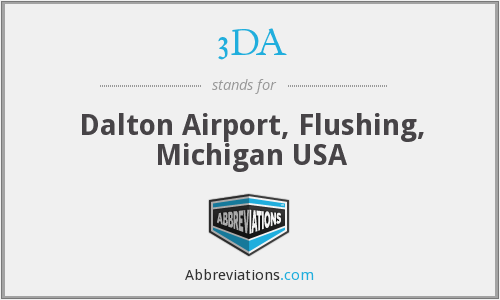 3DA - Dalton Airport, Flushing, Michigan USA