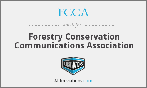 FCCA - Forestry Conservation Communications Association