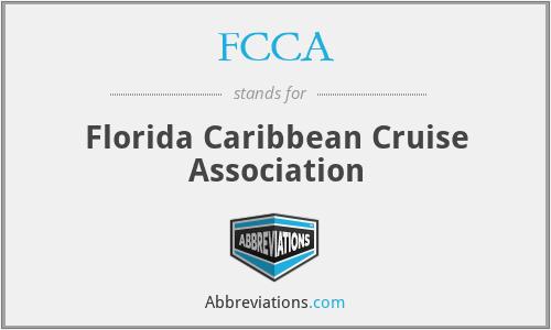 FCCA - Florida Caribbean Cruise Association