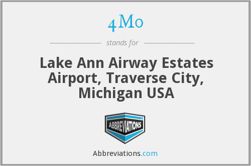 4M0 - Lake Ann Airway Estates Airport, Traverse City, Michigan USA