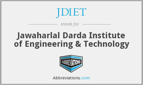 JDIET - Jawaharlal Darda Institute of Engineering & Technology