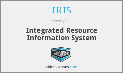 IRIS - Integrated Resource Information System