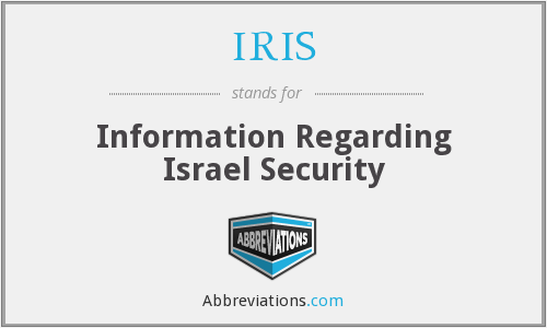 IRIS - Information Regarding Israel Security