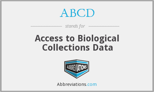 ABCD - Access to Biological Collections Data
