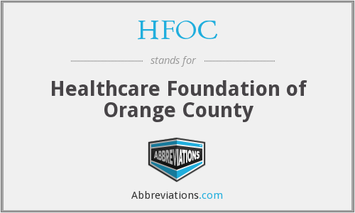 What does HFOC stand for?