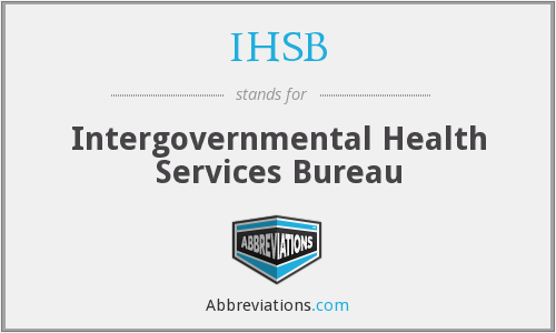 IHSB - Intergovernmental Health Services Bureau