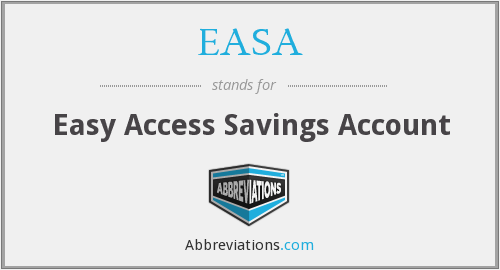 EASA - Easy Access Savings Account