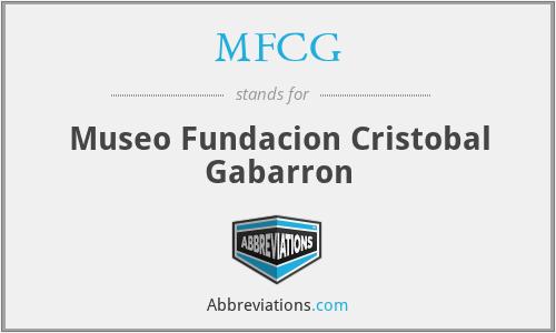 MFCG - Museo Fundacion Cristobal Gabarron