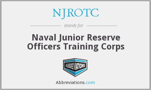 NJROTC - Naval Junior Reserve Officers Training Corps