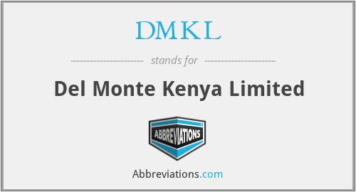 DMKL - Del Monte Kenya Limited