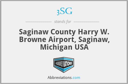 3SG - Saginaw County Harry W. Browne Airport, Saginaw, Michigan USA