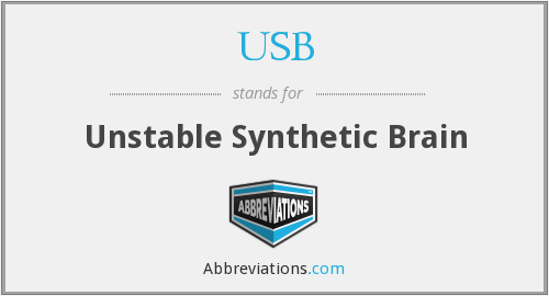 USB - Unstable Synthetic Brain