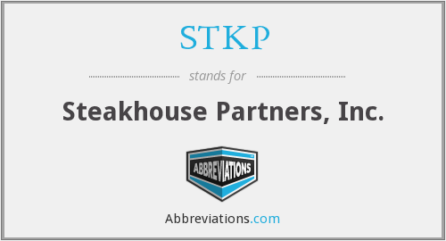 STKP - Steakhouse Partners, Inc.