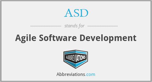 ASD - Agile Software Development