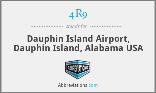 4R9 - Dauphin Island Airport, Dauphin Island, Alabama USA