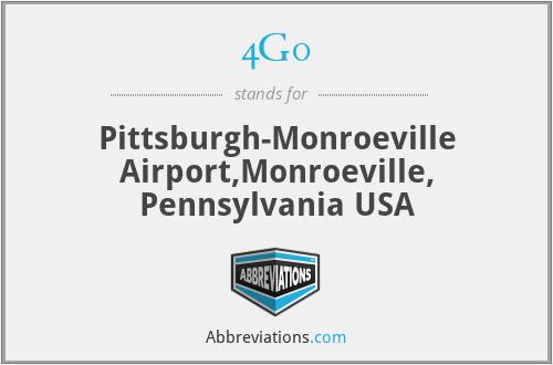 4G0 - Pittsburgh-Monroeville Airport,Monroeville, Pennsylvania USA