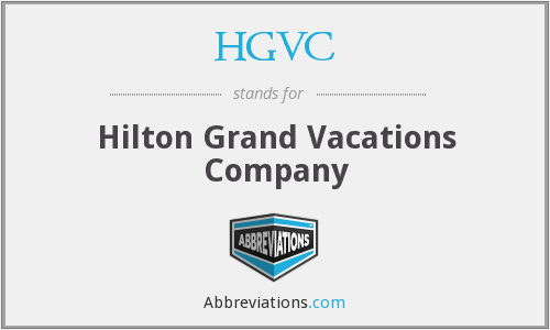 HGVC - Hilton Grand Vacations Company