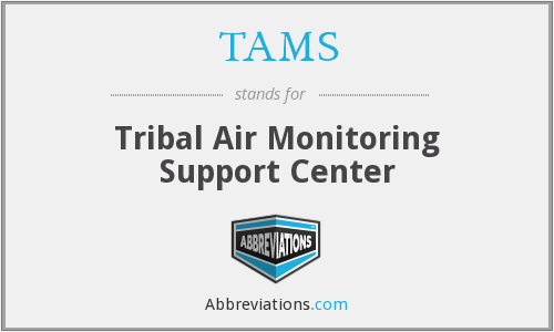 TAMS - Tribal Air Monitoring Support Center