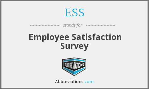 ESS - Employee Satisfaction Survey