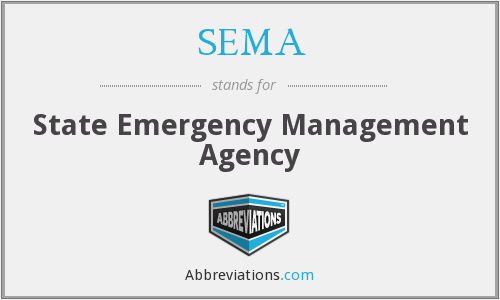 SEMA - State Emergency Management Agency