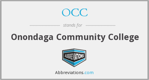 OCC - Onondaga Community College