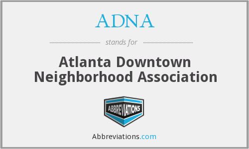 ADNA - Atlanta Downtown Neighborhood Association