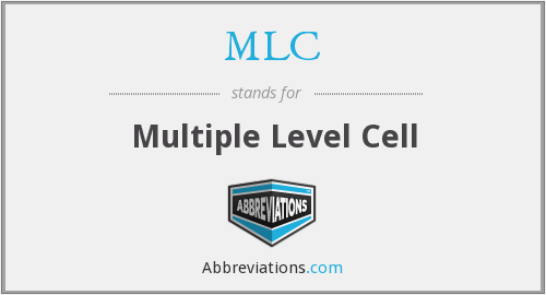 MLC - Multiple Level Cell