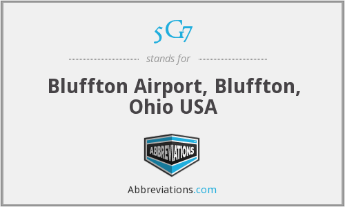 5G7 - Bluffton Airport, Bluffton, Ohio USA