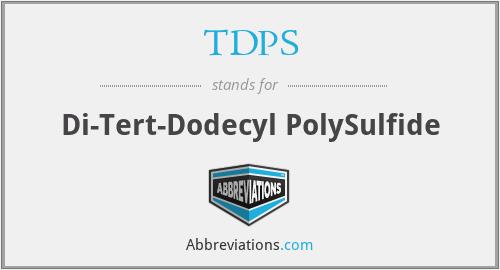 TDPS - Di-Tert-Dodecyl PolySulfide