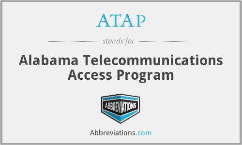 ATAP - Alabama Telecommunications Access Program