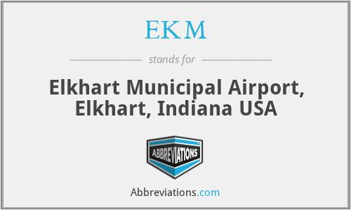 EKM - Elkhart Municipal Airport, Elkhart, Indiana USA