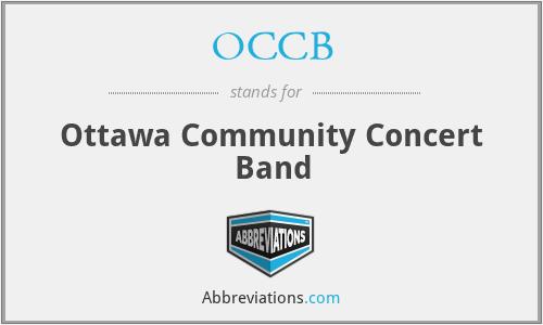 OCCB - Ottawa Community Concert Band