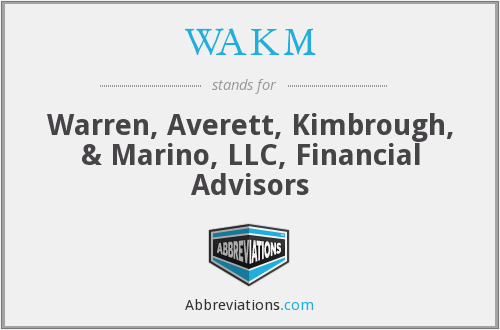 What does WAKM stand for?