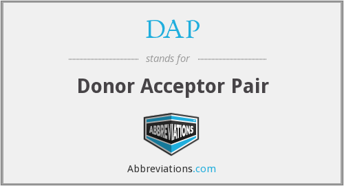 What does acceptor stand for?