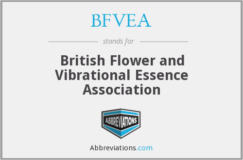BFVEA - British Flower and Vibrational Essence Association