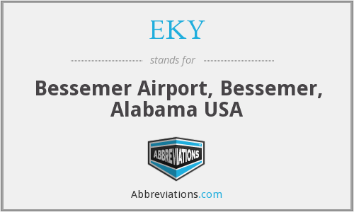 EKY - Bessemer Airport, Bessemer, Alabama USA