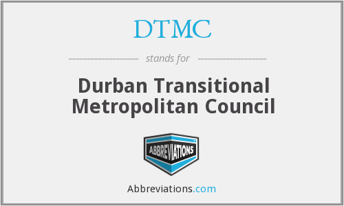 DTMC - Durban Transitional Metropolitan Council