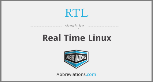 RTL - Real Time Linux