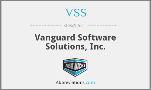 VSS - Vanguard Software Solutions, Inc.