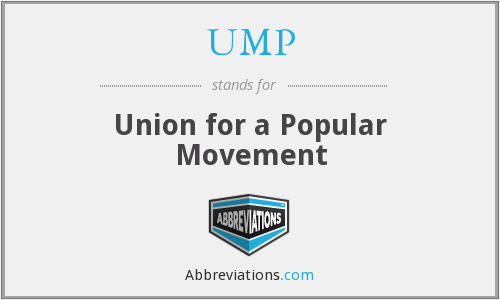 UMP - Union for a Popular Movement