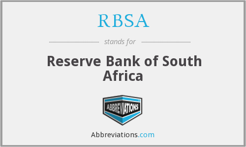 RBSA - Reserve Bank of South Africa